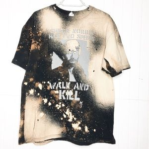 RE/DESIGNED • Bleached Out Chuck Norris Tee